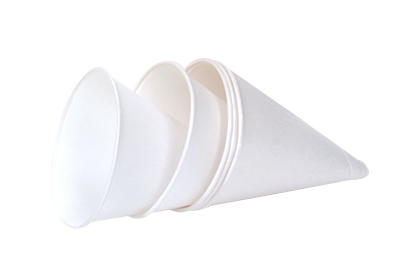 cone shaped paper cups 4 ounces idwf